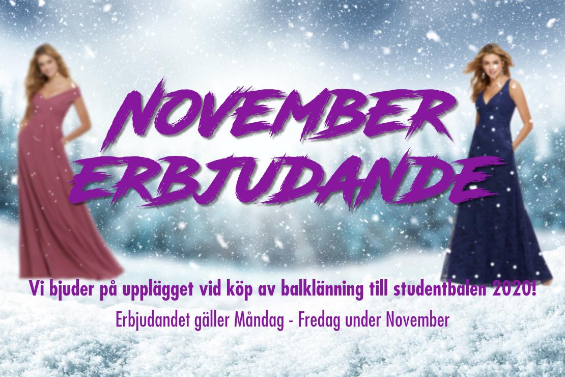 November erbjudande